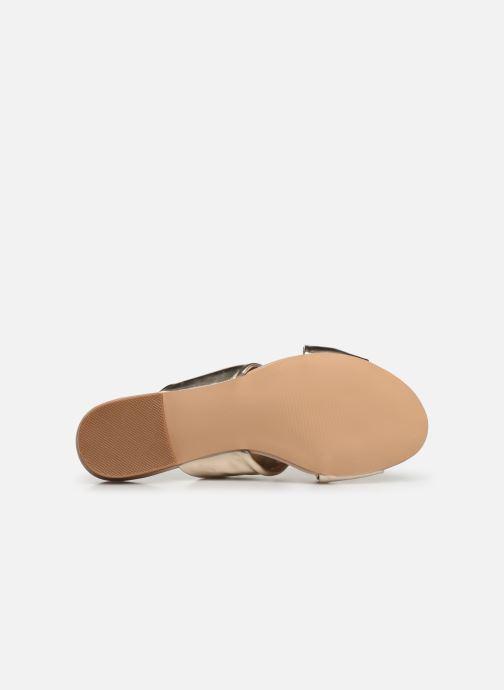 Mules et sabots I Love Shoes LINEA Or et bronze vue haut