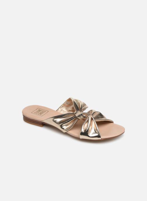 Mules et sabots I Love Shoes LINEA Or et bronze vue détail/paire