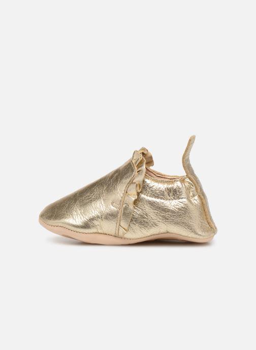 Hausschuhe Easy Peasy Blumoo Froufrou gold/bronze ansicht von rechts