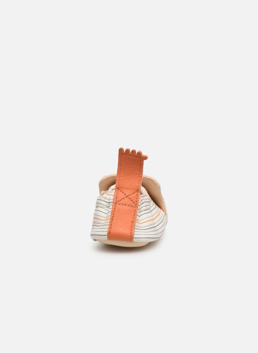 Pantofole Easy Peasy Blumoo Wave Bianco immagine posteriore