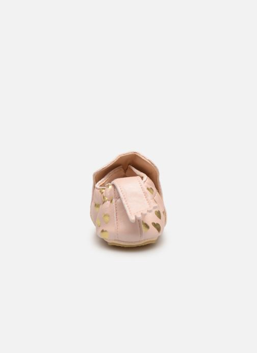 Chaussons Easy Peasy Blublu Lovely Rose vue droite