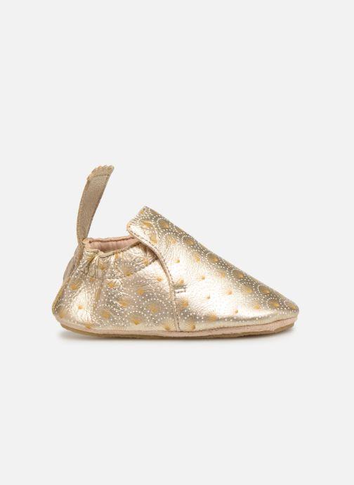 Pantoffels Easy Peasy Blublu Palmette Goud en brons achterkant