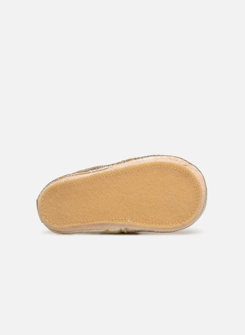 Pantoffels Easy Peasy Blublu Palmette Goud en brons boven