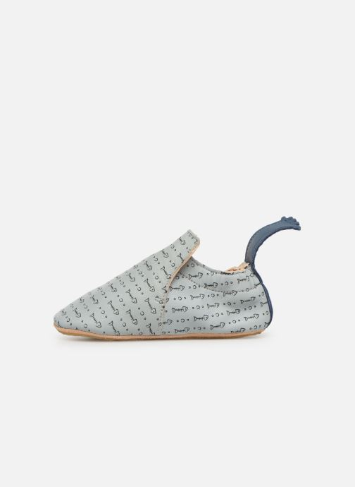 Chaussons Easy Peasy Blublu Pesce Gris vue face