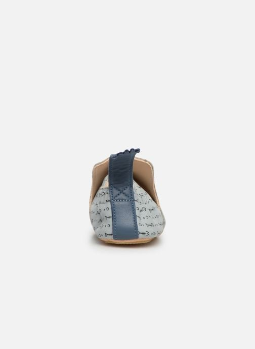Chaussons Easy Peasy Blublu Pesce Gris vue droite
