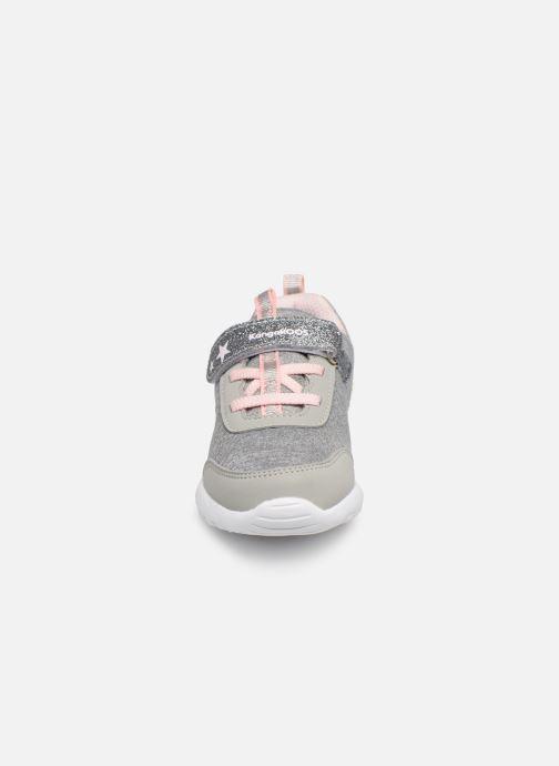 Baskets Kangaroos Citylite EV Gris vue portées chaussures