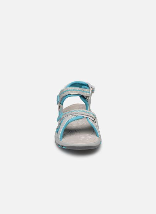 Sandales et nu-pieds Kangaroos K-Leni Bleu vue portées chaussures