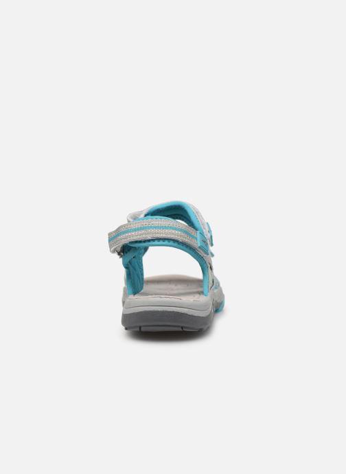 Sandales et nu-pieds Kangaroos K-Leni Bleu vue droite