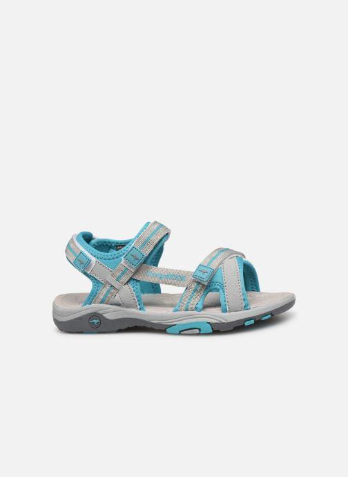 Sandales et nu-pieds Kangaroos K-Leni Bleu vue derrière