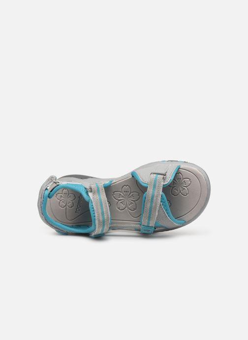 Sandales et nu-pieds Kangaroos K-Leni Bleu vue gauche
