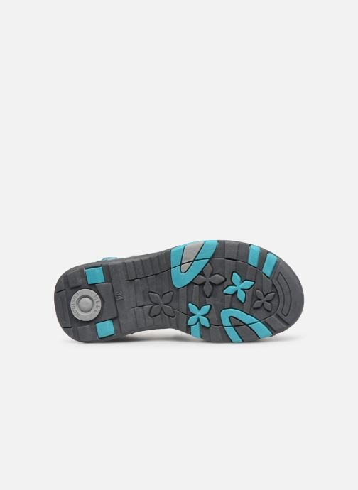 Sandales et nu-pieds Kangaroos K-Leni Bleu vue haut