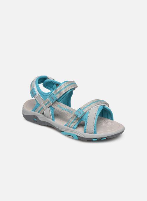 Sandales et nu-pieds Kangaroos K-Leni Bleu vue détail/paire