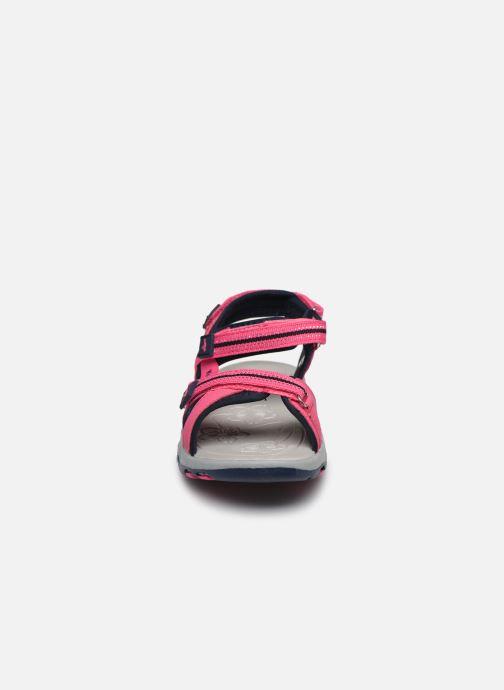 Sandales et nu-pieds Kangaroos K-Leni Rose vue portées chaussures