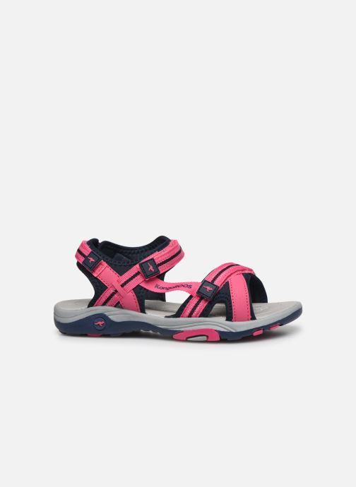 Sandales et nu-pieds Kangaroos K-Leni Rose vue derrière