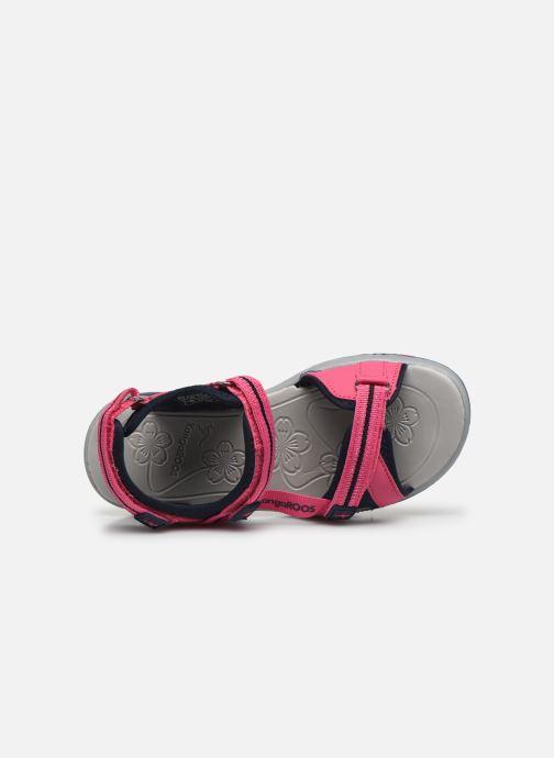 Sandales et nu-pieds Kangaroos K-Leni Rose vue gauche