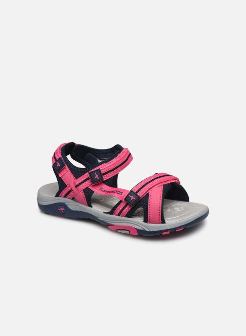 Sandales et nu-pieds Kangaroos K-Leni Rose vue détail/paire