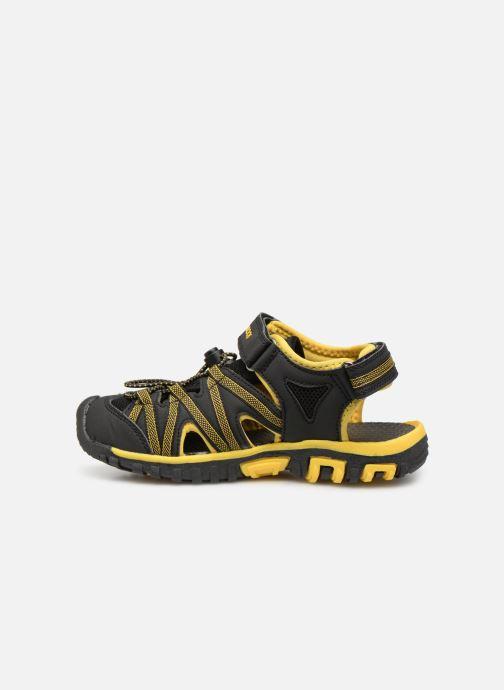 Sandales et nu-pieds Kangaroos Osato C Noir vue face