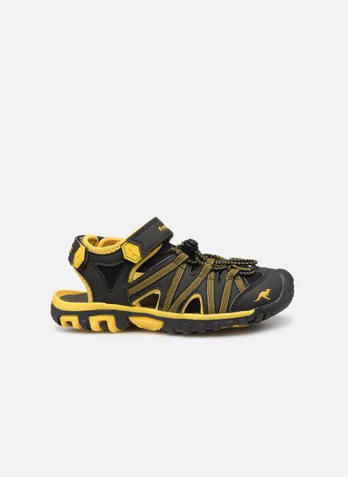 Sandales et nu-pieds Kangaroos Osato C Noir vue derrière