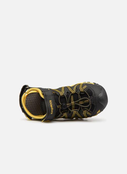 Sandales et nu-pieds Kangaroos Osato C Noir vue gauche