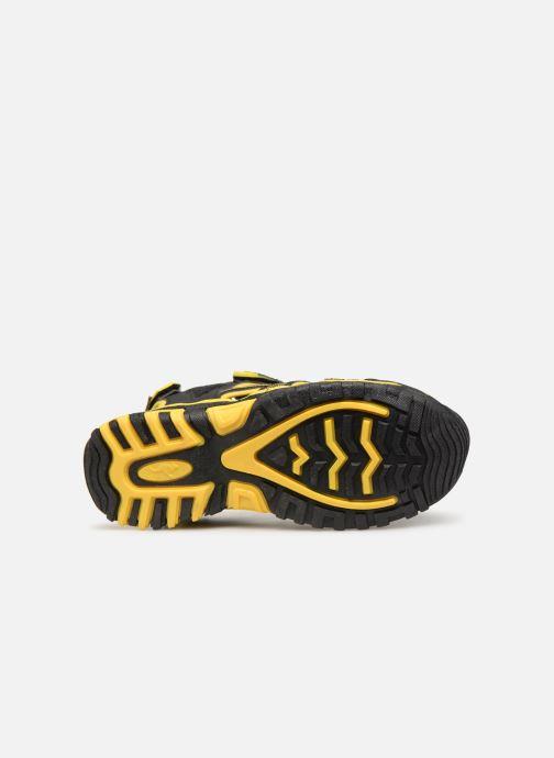 Sandales et nu-pieds Kangaroos Osato C Noir vue haut