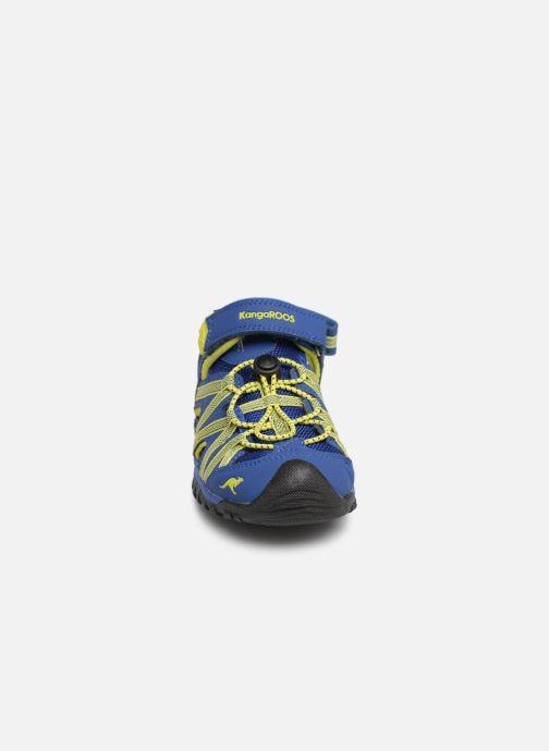 Sandales et nu-pieds Kangaroos Osato C Bleu vue portées chaussures