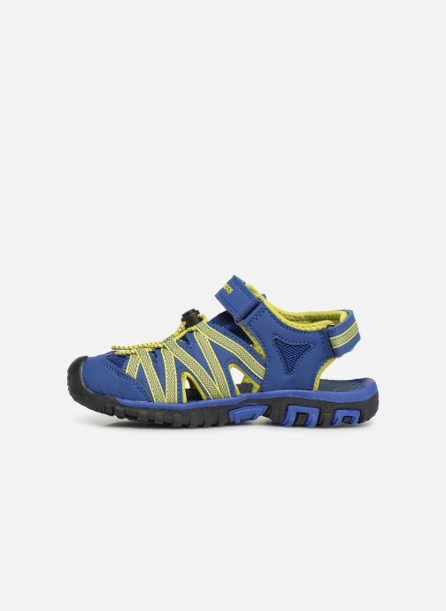 Sandales et nu-pieds Kangaroos Osato C Bleu vue face