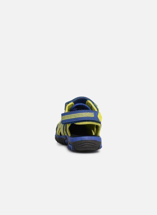 Sandales et nu-pieds Kangaroos Osato C Bleu vue droite