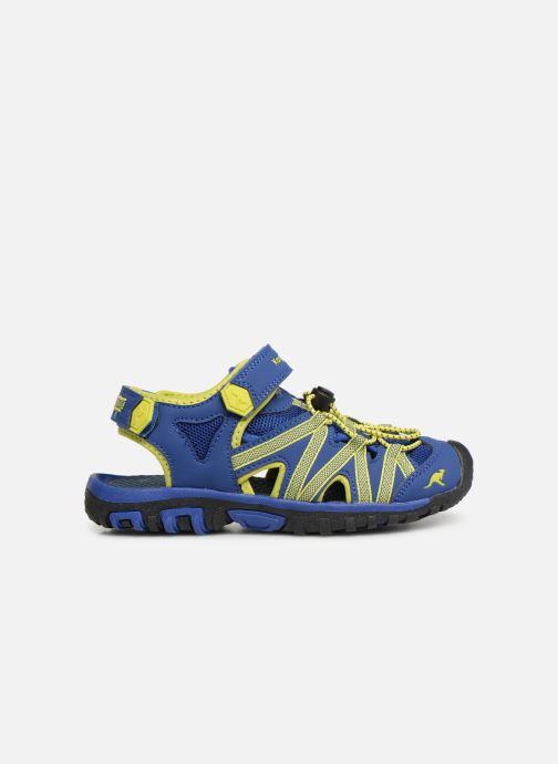 Sandales et nu-pieds Kangaroos Osato C Bleu vue derrière