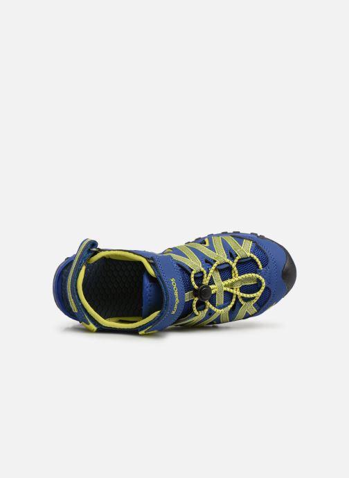 Sandales et nu-pieds Kangaroos Osato C Bleu vue gauche