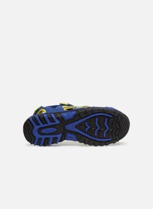 Sandales et nu-pieds Kangaroos Osato C Bleu vue haut