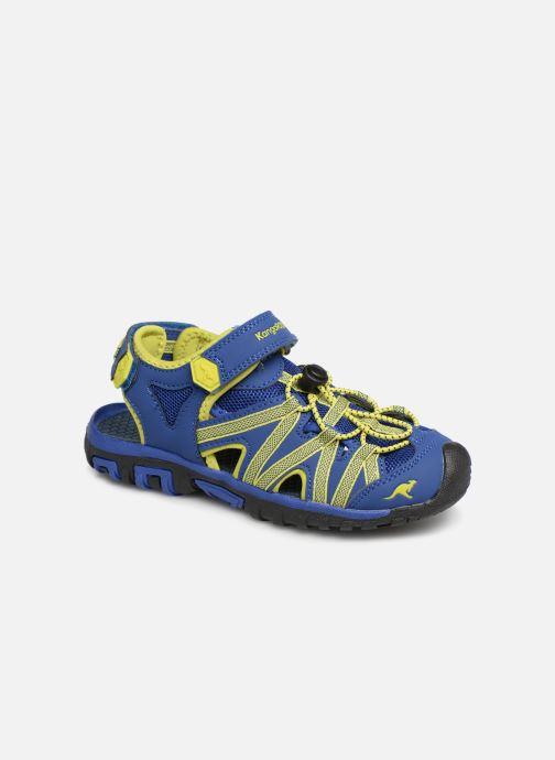 Sandales et nu-pieds Kangaroos Osato C Bleu vue détail/paire