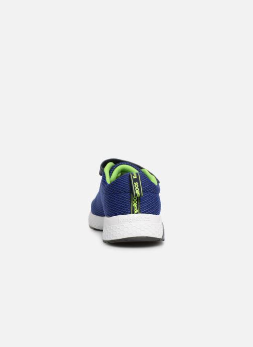 Baskets Kangaroos Kadee Knit EV Bleu vue droite