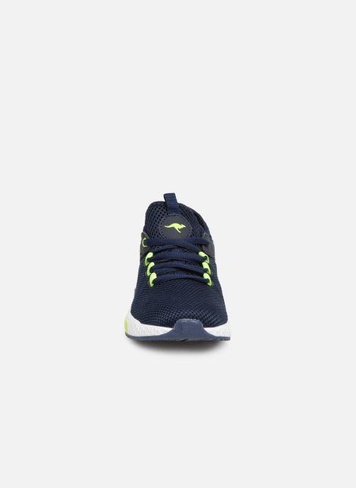 Baskets Kangaroos Kadee Sock Bleu vue portées chaussures