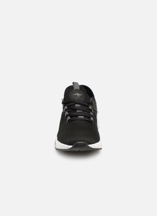 Baskets Kangaroos Kadee Sock Noir vue portées chaussures