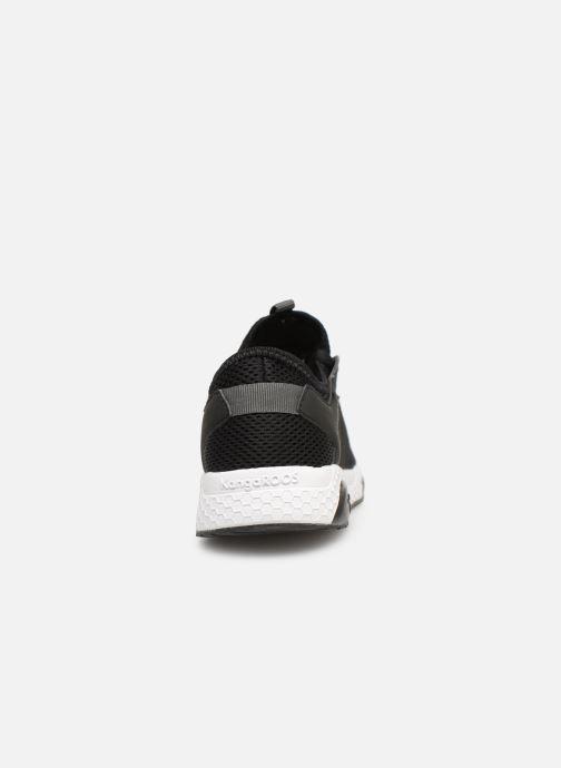 Baskets Kangaroos Kadee Sock Noir vue droite