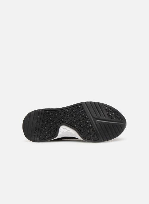 Baskets Kangaroos Kadee Sock Noir vue haut