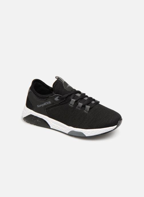 official photos 16170 10397 Sneakers Kangaroos Kadee Sock Sort detaljeret billede af skoene