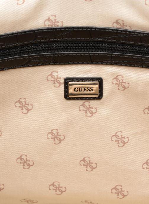 Handtassen Guess ANNE MARIE DOME Zwart achterkant
