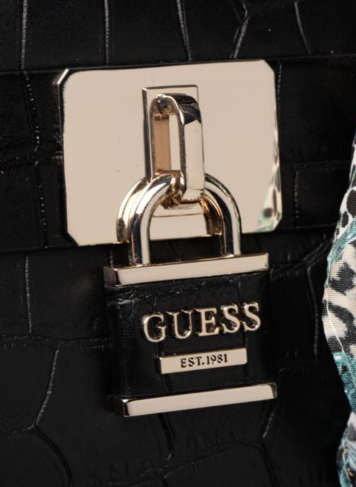 Handtassen Guess ANNE MARIE DOME Zwart links