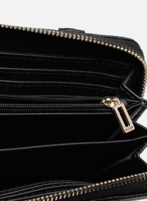 Petite Maroquinerie Guess EILEEN LARGE ZIP ROUND Noir vue derrière