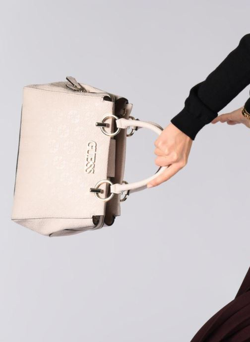 Handtassen Guess HERITAGE GIRLFRIEND SATCHEL Roze onder