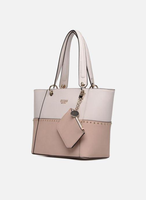 Guess KAMRYN TOTE ZIP (Pink) - Handbags chez Sarenza (351619) e0b8e10762