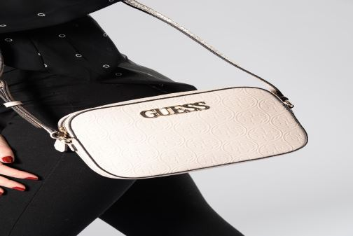 Sacs à main Guess KAMRYN CROSSBODY Rose vue haut