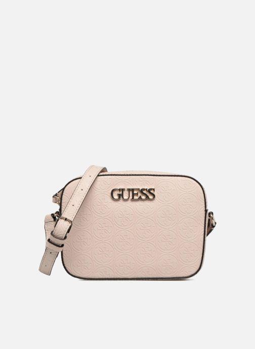 Bolsos de mano Guess KAMRYN CROSSBODY Rosa vista de detalle / par
