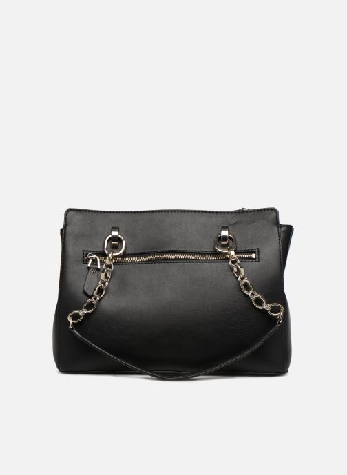 Sacs à main Guess MARLENE LUXURY SATCHEL Noir vue face