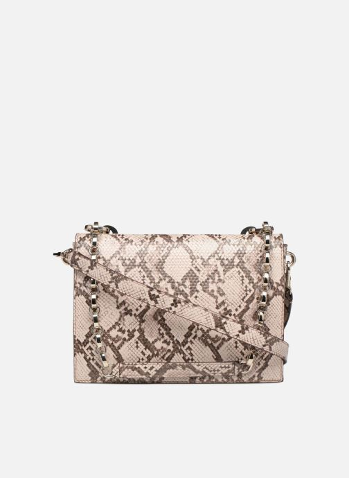 Sacs à main Guess MARLENE SHOULDER BAG Beige vue face