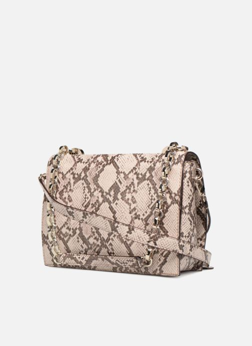 Sacs à main Guess MARLENE SHOULDER BAG Beige vue droite