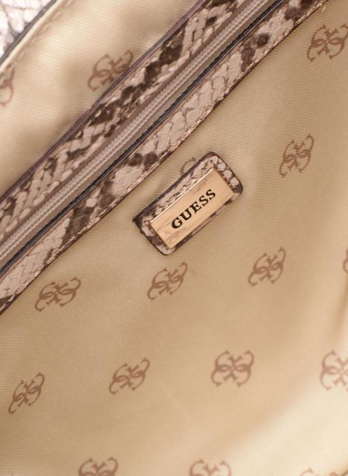 Sacs à main Guess MARLENE SHOULDER BAG Beige vue derrière