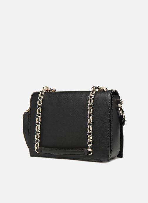Handtassen Guess MARLENE SHOULDER BAG Zwart rechts