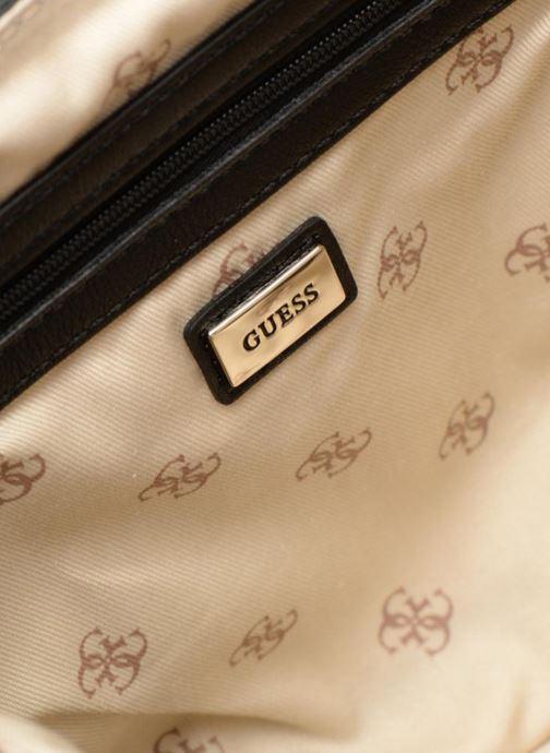 Handtassen Guess MARLENE SHOULDER BAG Zwart achterkant